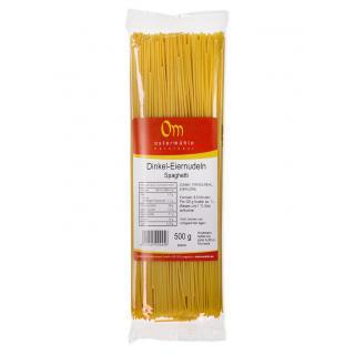 Dinkel Spaghetti mit Ei