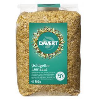 Bio Leinsaat goldgelb 500 g