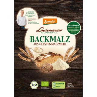 Bio Gerstenbackmalz demeter 200 g