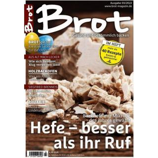 """Brot Magazin """"Richtig kneten"""" Ausgabe 04/21"""