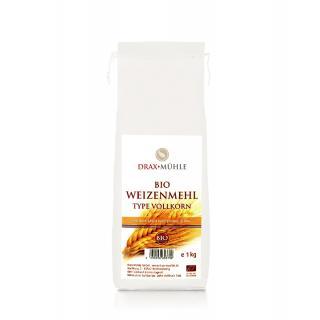 Bio Weizenmehl Vollkorn * 1kg