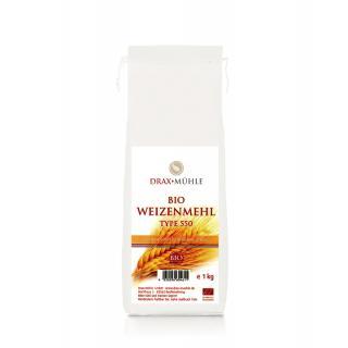 Bio Weizenmehl Type 550 * 1kg