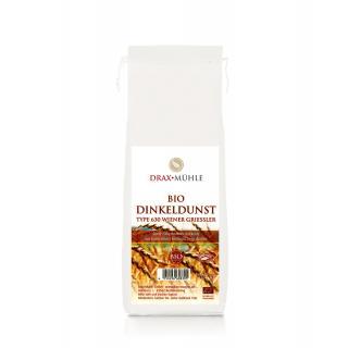 Bio Dinkelmehl Dunst Wiener Griessler * 1 kg