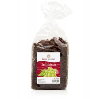 Sultaninen dunkel ungeschwefelt 1kg