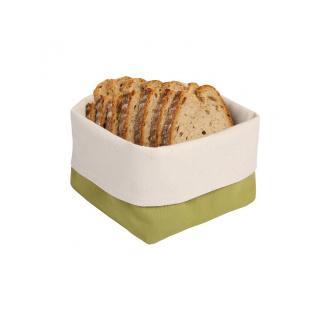 """Brotkörbchen aus Baumwolle """"Olive"""""""